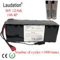 Laudation 36 v 12ah Аккумулятор для электрического велосипеда 18650 аккумулятор 36V8ah 10ah 12ah 500 W высокая мощность и емкость 42 V мотоцикл Скутер