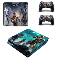 HOMEREALLY Skin PS4 Slim DESTINY 2 PVC Classic Sticker Cover For Sony Playstation 4 Slim Console