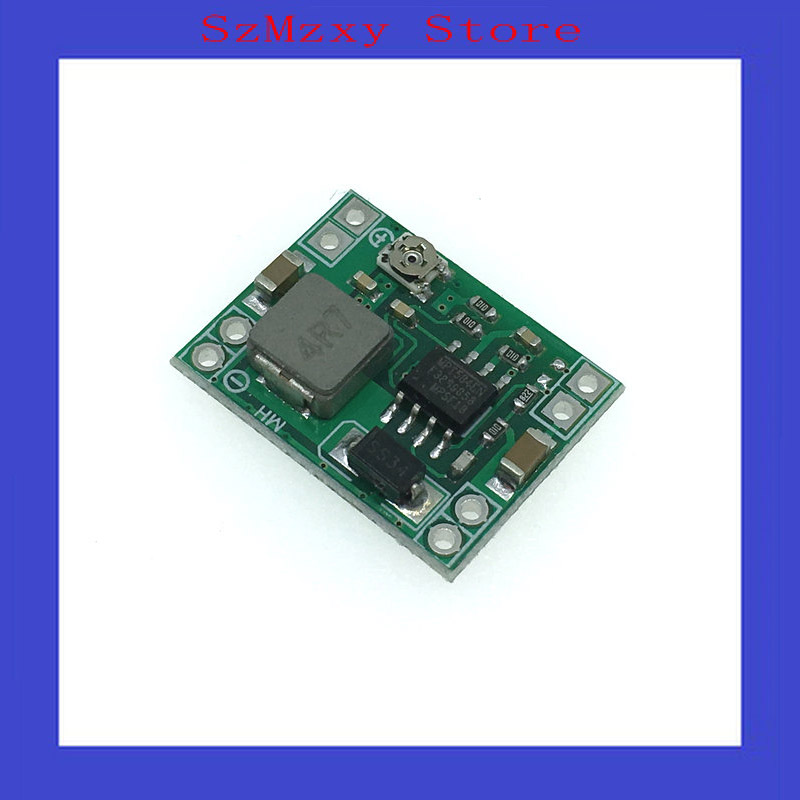 10PCS/LOT MP1584EN Ultra-small size DC-DC step-down power supply module 3A adjustable step-down module super LM2596 10pcs lot mp1584en mp1584 3a 1 5mhz 28v step down converter