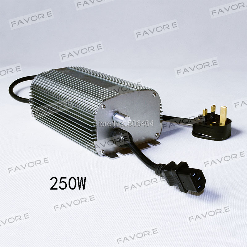MH/HPS 250W dimmable electronic ballast for greenhouse plant growing EU