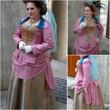 1860S Victorian Corset Gothic/Civil War Southern Belle Ball Gown Dress Halloween dresses  CUSTOM MADE R597