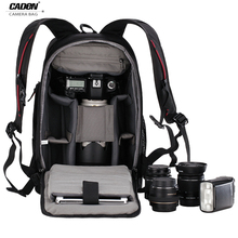Caden цифровых зеркальных камер рюкзак штатив сумка рюкзак для камеры мульти-емкость водонепроницаемый фото рюкзак с W/ дождевик