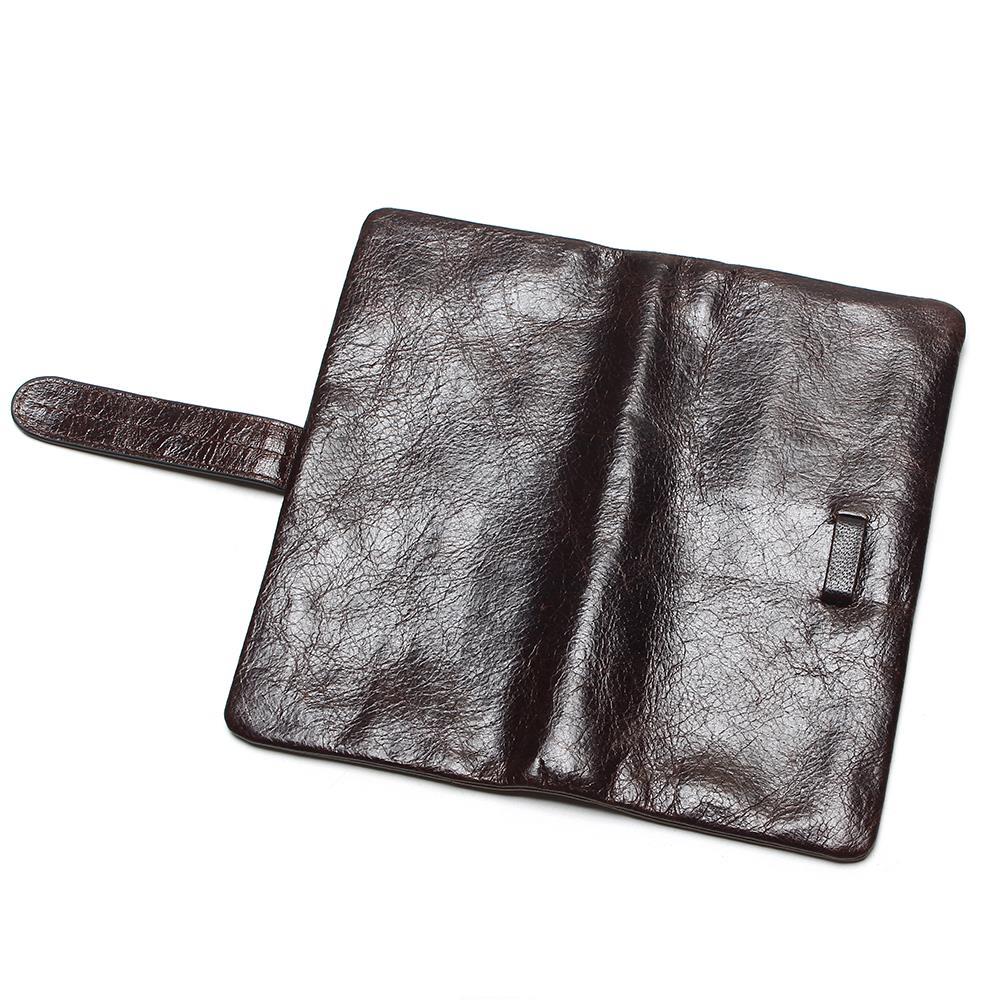 para mulheres longo carteira bifold Interior : Bolso Interior do Entalhe, bolso do Telefone de Pilha, bolso Interior do Zipper, compartimento Interior, bolsa de Zíper, coin Pocket, note Compartment, suporte de Cartão