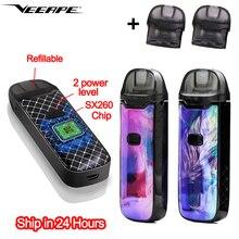 ¡En Stock! VEEAPE VONE Pod Vape Pen con los más nuevos Chips YIHI SX260, batería de 1200mAh, Kit de vaporizador rellenable