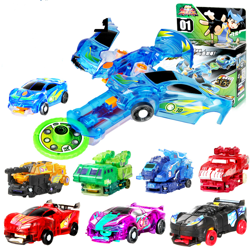 Cool Toys Cars : Pc transformation kids classic robot cars toys for