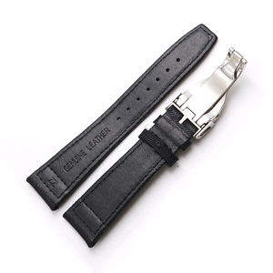 Image 4 - Rolamy Watch Band 20 21 22mm  Nylon Fabric Leather For Tudor Omega IWC Rolex Replacement Wrist  Loops Strap Deployment Clasp