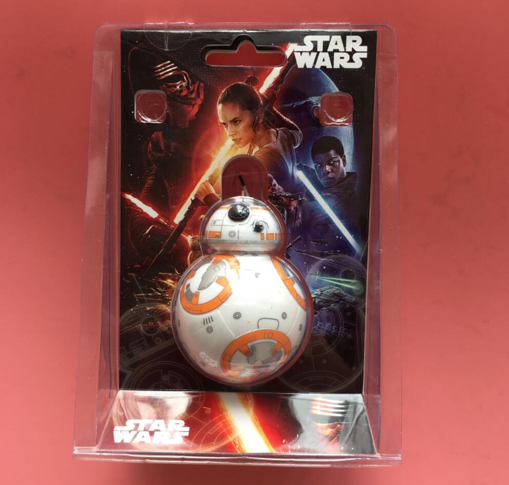 2017 Star Wars The Last Jedi BB8 BB9e R2D2 Droid Robot tumbler Action Figure Stormtrooper Clone Toy Gifts