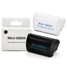 цена на MINI OBD ii ELM327 Bluetooth Latest V2.1 OBD 2 / OBD2 Wireless Car Diagnostic Scanner ON Android , Free Shipping