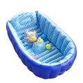 Natación del bebé piscina inflable bañera infantil espesar de seguridad que infla bañera baño ducha Pad plegable niños lavabo