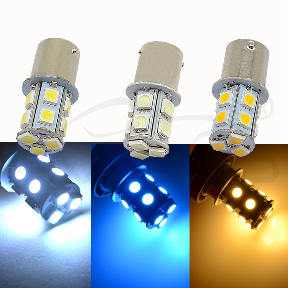 Image 4 - 10X 1156 BA15S 1157 BAY15D P21 5W BA15D 13Led 5050 Auto Led Turn Signal Lights Brake Tail Lamps Auto Rear Reverse Bulbs DC 12V-in LED Bulbs & Tubes from Lights & Lighting