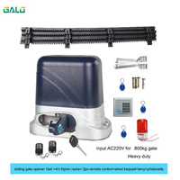GALO High quality and low price sliding gate opener automatic electric gate motor