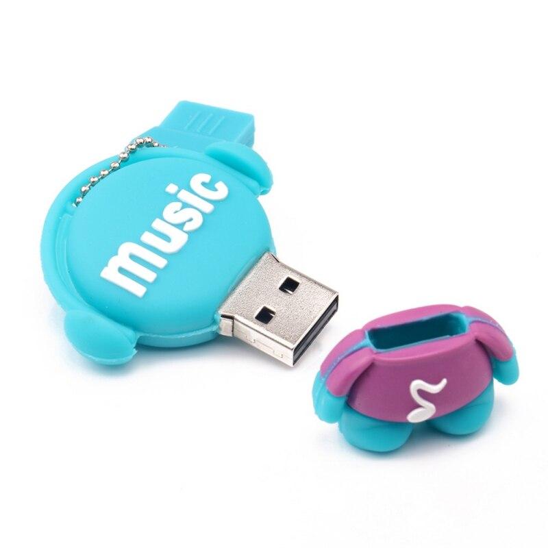 Музыкальные игрушки USB флеш-накопители 512 Мб 2 ГБ флеш-накопитель 8 ГБ реальная емкость USB память USB 2,0 карта памяти