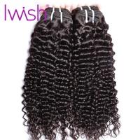 Deep Wave Bundles 1/ 3 Bundles / 4 Bundle Deals Iwish Hair Brazilian Hair Weave Bundles Human Hair Extensions Non Remy Hair