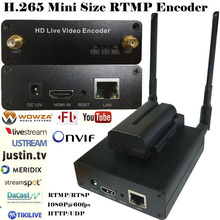 H.265 HEVC/H.264 AVC Wifi HDMI IPTV streaming Codificador para streaming ao vivo Transmitido via suporte wowza RTMP, youtube. facebook…
