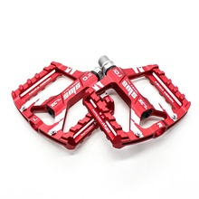8 Colors Platform Alloy Road Bike Pedals Ultralight MTB Bearing Bicycle Pedal Bike Accessories
