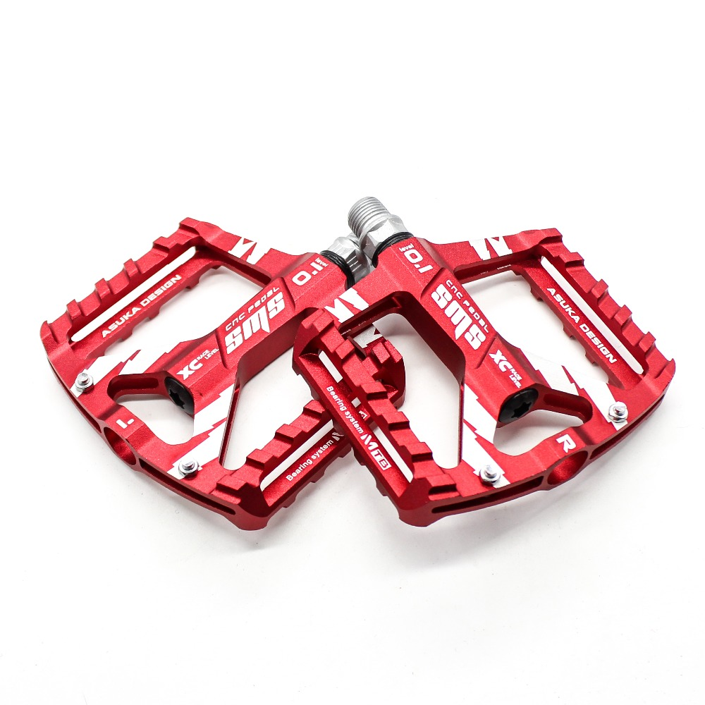 Road Bike MTB Cycling Bicycle Pedals Aluminum Platform Pedal Sealed Bearing