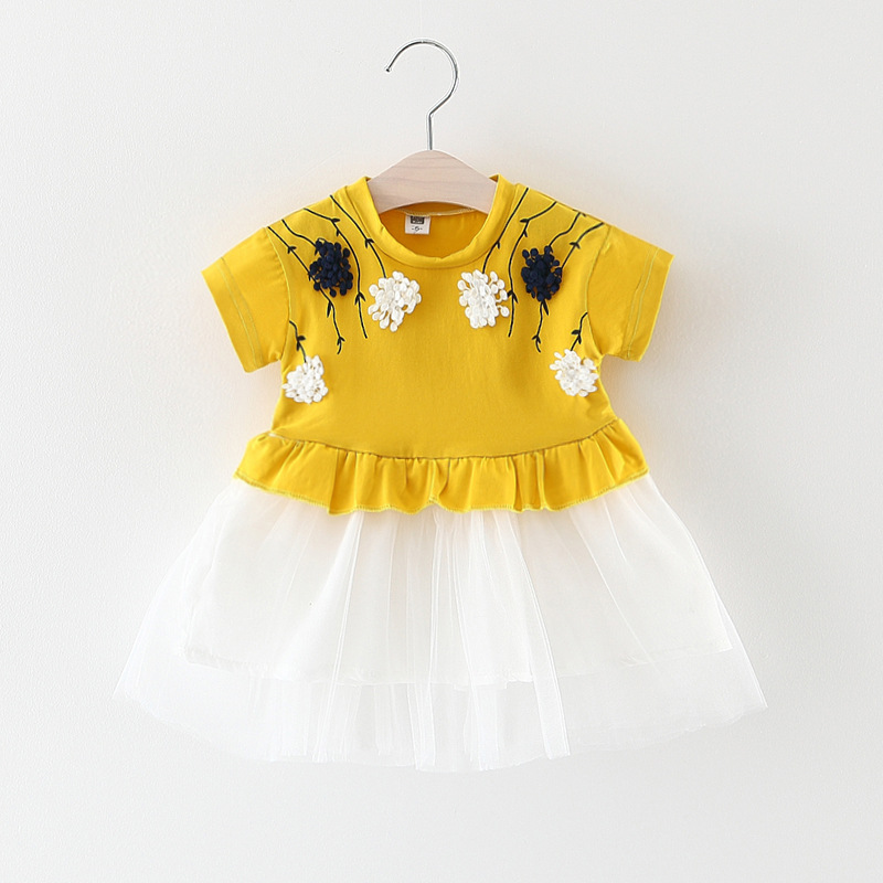 Newborn Girl Dress Infant Christening Gown Dress For Baby Girl 0 -3 Year Birthday Party Baby Child Clothing Toddler Girls Clothe
