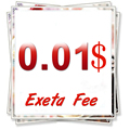 $0.01 Taxa Extra Para Os Compradores