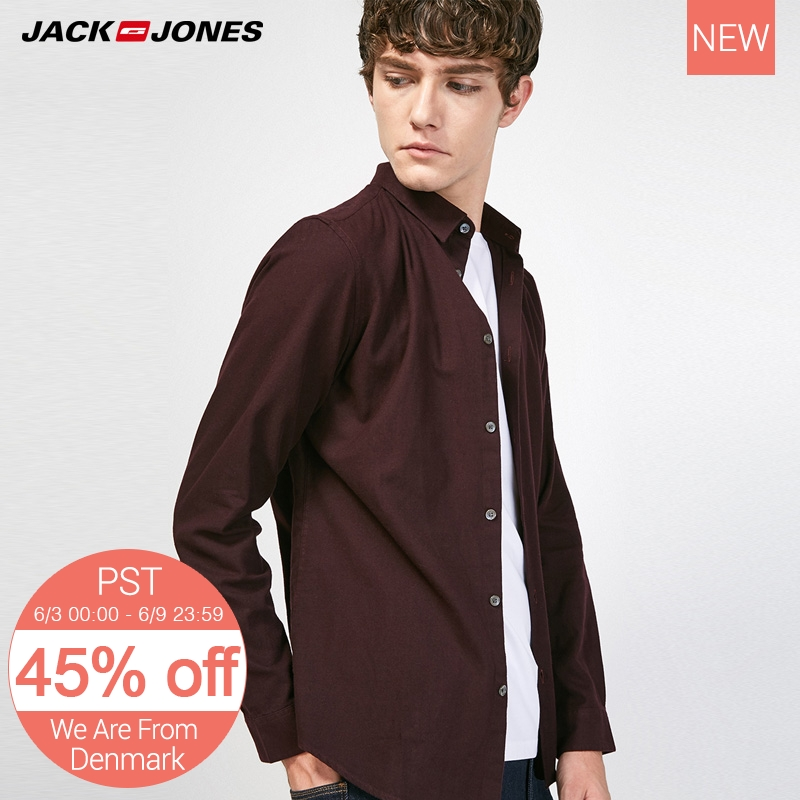 Jack Jones Slim Men's Long Sleeve Shirt E|217305549