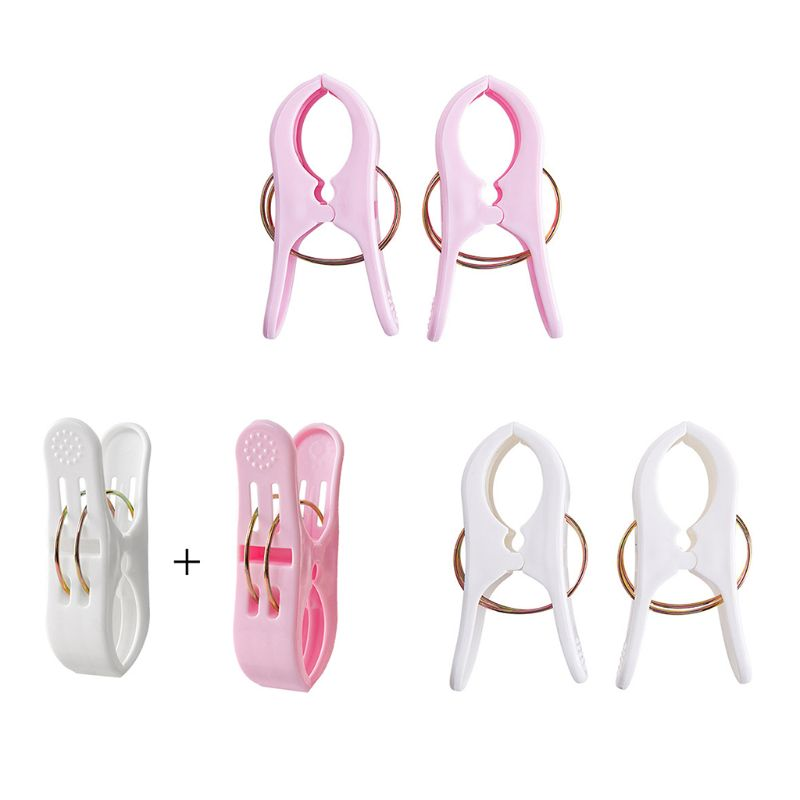 2Pcs Large Powerful Windproof Clothes Hanging Peg Quilt Sheet Clothespin Sunbed Towel Clip Hanger Clamps-in Clothes Pegs from Home & Garden
