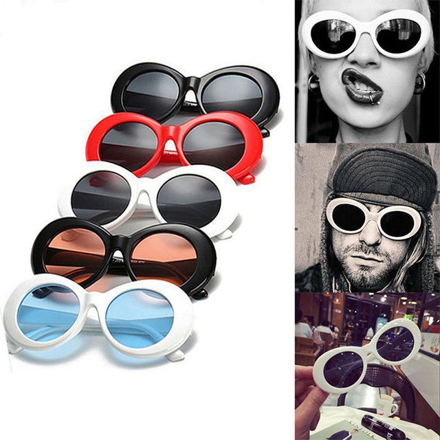 78554c6779a0f YOOSKE Clout Goggles Kurt Cobain Glasses Women Men Brand Designer NIRVANA  Sun Glasses Female Male Oval