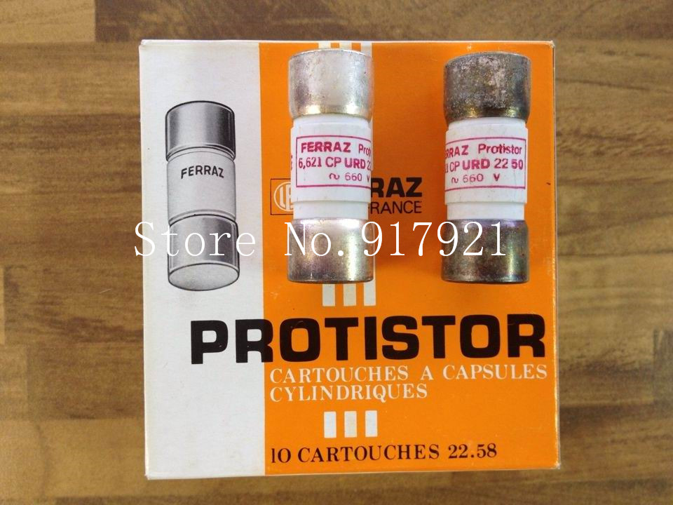 [ZOB] The French FERRAZ CP URD2250 PROTISTOR 660V50A 22X58 6621 faray fuse [sa]france mersen fuse ferraz amp trap