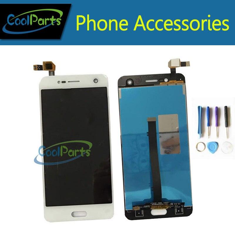 1 PC/Lot Haute Qualité 5.2 Pouces Pour ZTE Lame V8 BV0800 LCD Écran + Écran Tactile Assemblée Noir Blanc couleur Avec Outil