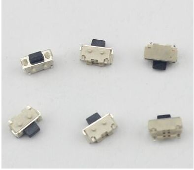 50pcs/lot SMT 2x4MM 2 PIN Tactile Tact Push Button Micro Switch Self-reset Momentary Free Shipping 50pcs lot 3x6x4 3mm 2pin tactile tact push button micro switch self reset free shipping