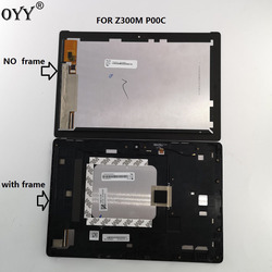 10.1 inch For ASUS ZenPad 10 Z300M P00C LCD Display Matrix Touch Screen Digitizer Assembly with frame p00c Z300MX