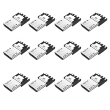5 Pack Micro USB Connector Adapter MINI Pin Plug DIY Solder Cable Type Assembly Male Charger