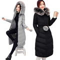 Manteau Femme hiver 2016 Winter Coat winter Jacket Women fur Overcoat Casual Cotton-padded Women's Winter Parkr JX050