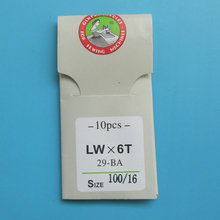 10 PCS BLINDSTITCH SEWING NEEDLES #LWX6T  important: choose you wanted size from product description.