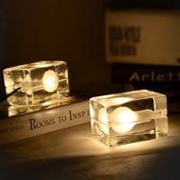 Fashion Art Gecontracteerd Decor G9 AC 110/220 V 40-60 W Led Lamp Ijs Cube Hanglamp voor Woonkamer Eetkamer Bar Novel Armatuur