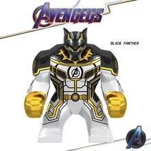 Avengers 4 Endgame Thanos Infinity Gauntlet Iron Man Black Panther Marvel Building Blocks Action Figures Children Legoed Toys