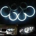 4X CCFL Angel Eye Halo Кольца Для BMW E46 Compact 3 Серии E83 X3 Ксеноновые Белый Номера для Проектора Лампы автомобильные светодиодные автомобиль для укладки