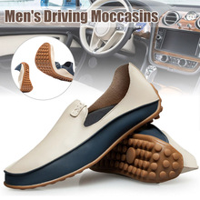 New Arrival Men Driving Moccasins Casual Boat Shoes Leather Shoes Light Slip on Loafers new men s octopus leather penny loafers crocodile slip on driving shoes mens casual shoes moccasins business boat shoes branded