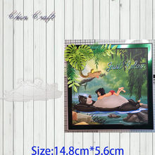 Bear and little boy Metal Cutting Dies Stencil DIY Scrapbooking Photo Album Decor Embossing Cards Making DIY Crafts(China)