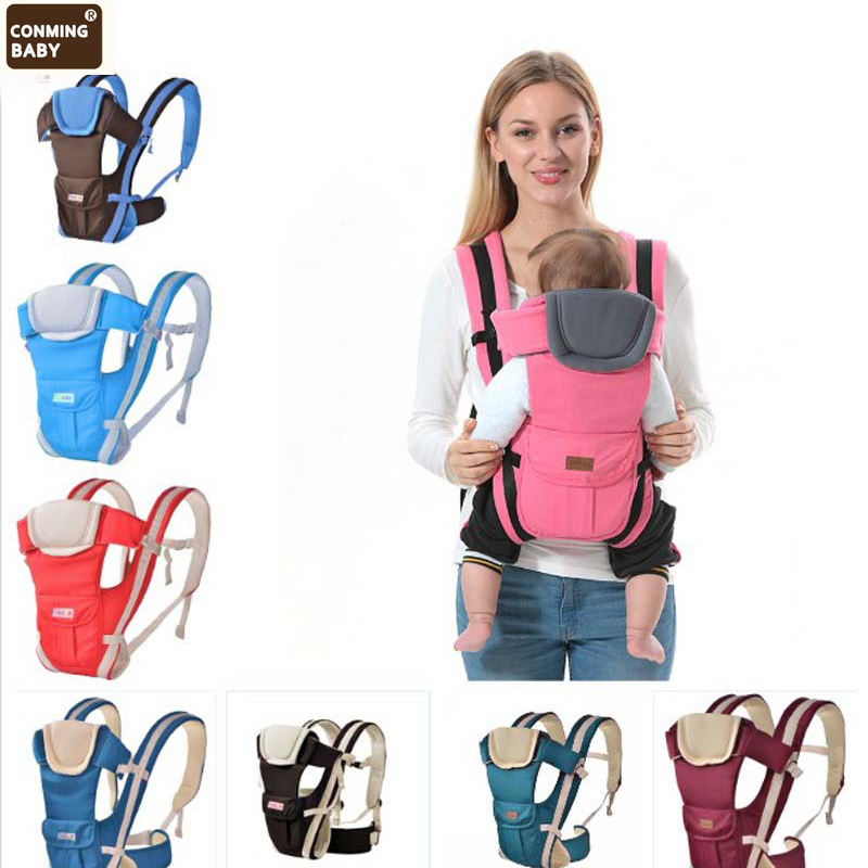Front Facing Baby Carrier 4 In 1 3-36 Months Breathable Infant Comfortable Sling Backpack Pouch Wrap Baby Kangaroo