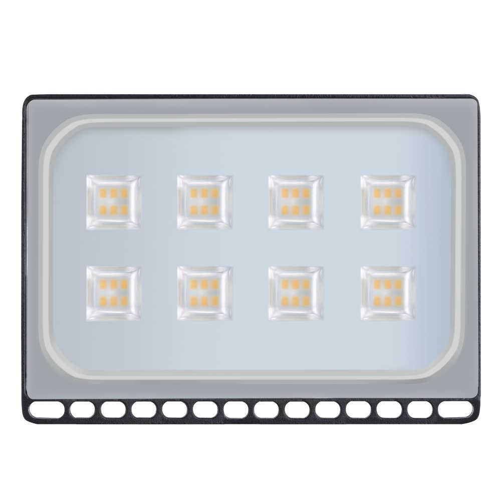 2PCS Ultrathin LED Flood Light 10W 20W 30W 50W 100W IP65 220V LED Spotlight Refletor Outdoor Lighting  Wall Lamp Floodlight