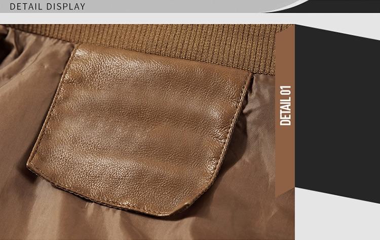 HTB1N1VrpHZnBKNjSZFrq6yRLFXaU DAVYDAISY 2019 High Quality PU Leather Jackets Men Autumn Solid Stand Collar Fashion Men Jacket Jaqueta Masculina 5XL DCT-245