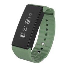Bluetooth Smart Band Браслет артериального давления крови кислородом сердечной вызова сообщение напоминание фитнес-трекер для Android IOS MI2