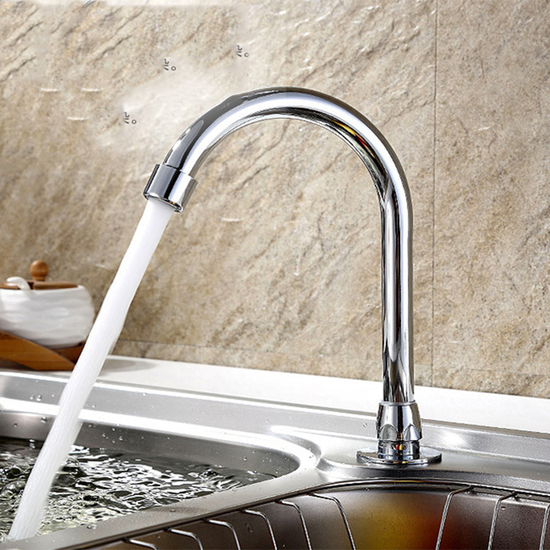 Grifo All Copper Pedal Foot Valve Faucet Bathroom Faucet Kitchen ...