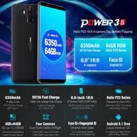 6350 mAh 6.0 HD Ulefone Power 3 s Smartphone 4 Gam Android 8.1 Octa Lõi 4 GB + 64 GB Apr18