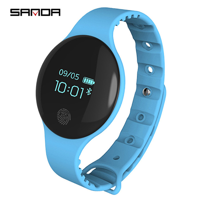 New Children style Sport Fitness Watches Smart Bracelet Activity Tracker Band Pe