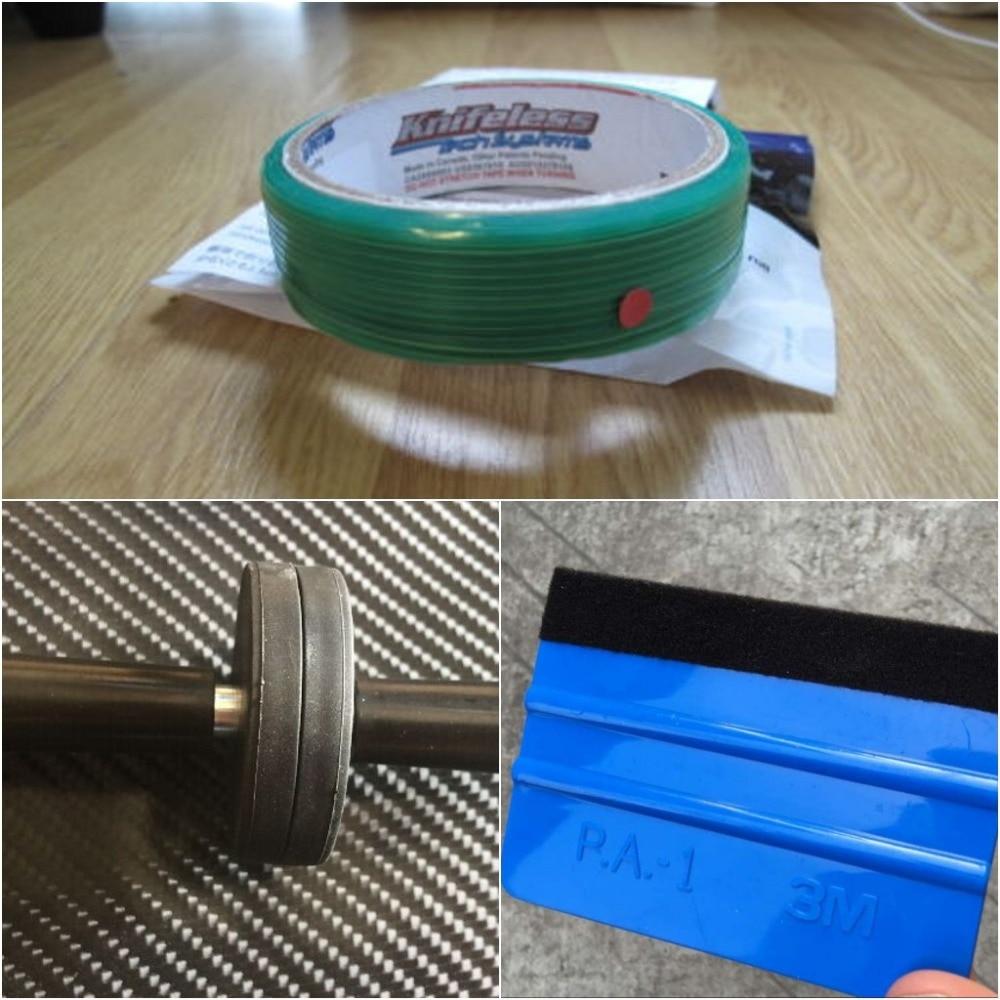4 PC support magnétique/4 PC serre/1 PC couteau bande embalage auto adhésif pour voiture Film outils de coupe ligne de conception DHL livraison gratuite