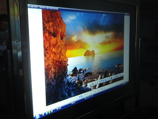 Hot selling! Dark gray adhesive rear projection foil, 1.524m*0.6m Rear projection film/foil for shop window display 18 5 dark gray and light gray and white and transparent holographic rear projection film