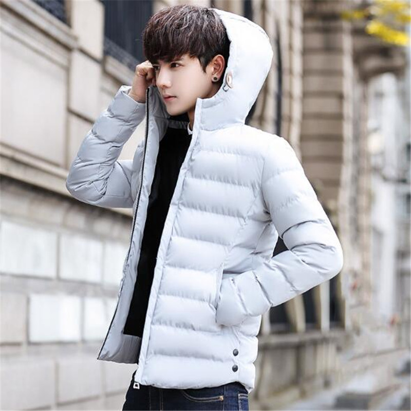 Tang cool 2018 Autumn Winter Parka Men Jacket Coat Casual Padded Cotton Thick Warm Male Jackets Hooded Outerwear