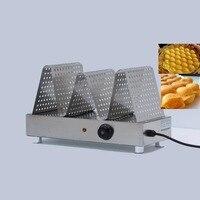 Ovo elétrico comercial waffle aquecimento displayer  eggettes bolha waffle bolo alimentos mais quente aquecimento rack showcase