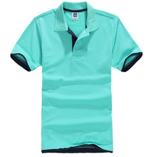 4a25537f Polo Shirts For Men 2019 Casual Brand Clothing Business Male Breathable Mens  Summer Polos para Hombre