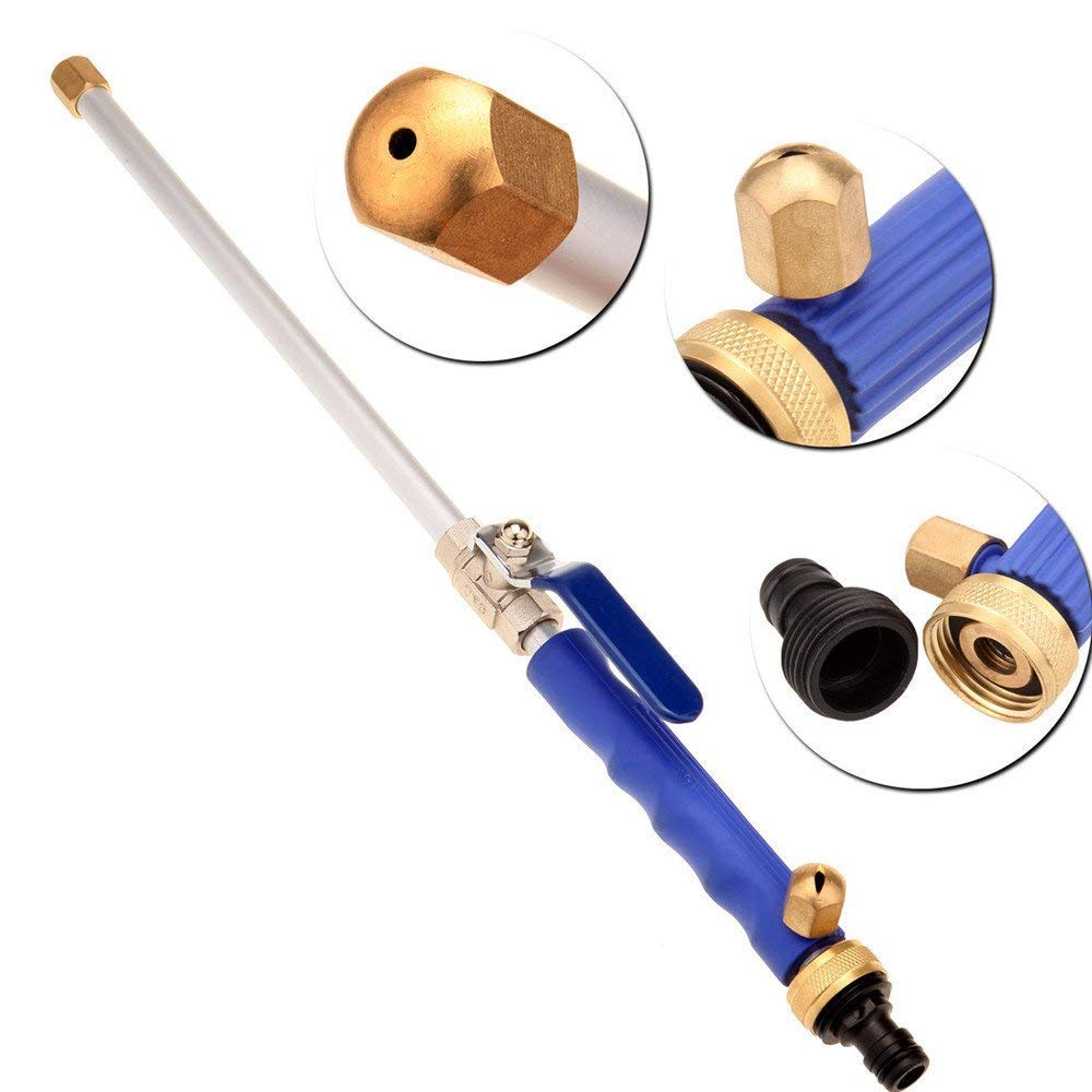 Dropshipping Car High Pressure Power Water Gun Jet Garden Washer Hose Wand Nozzle Sprayer Watering Spray Sprinkler Cleaning Too(China)